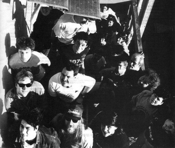 PBS History - 1989 PBS crew