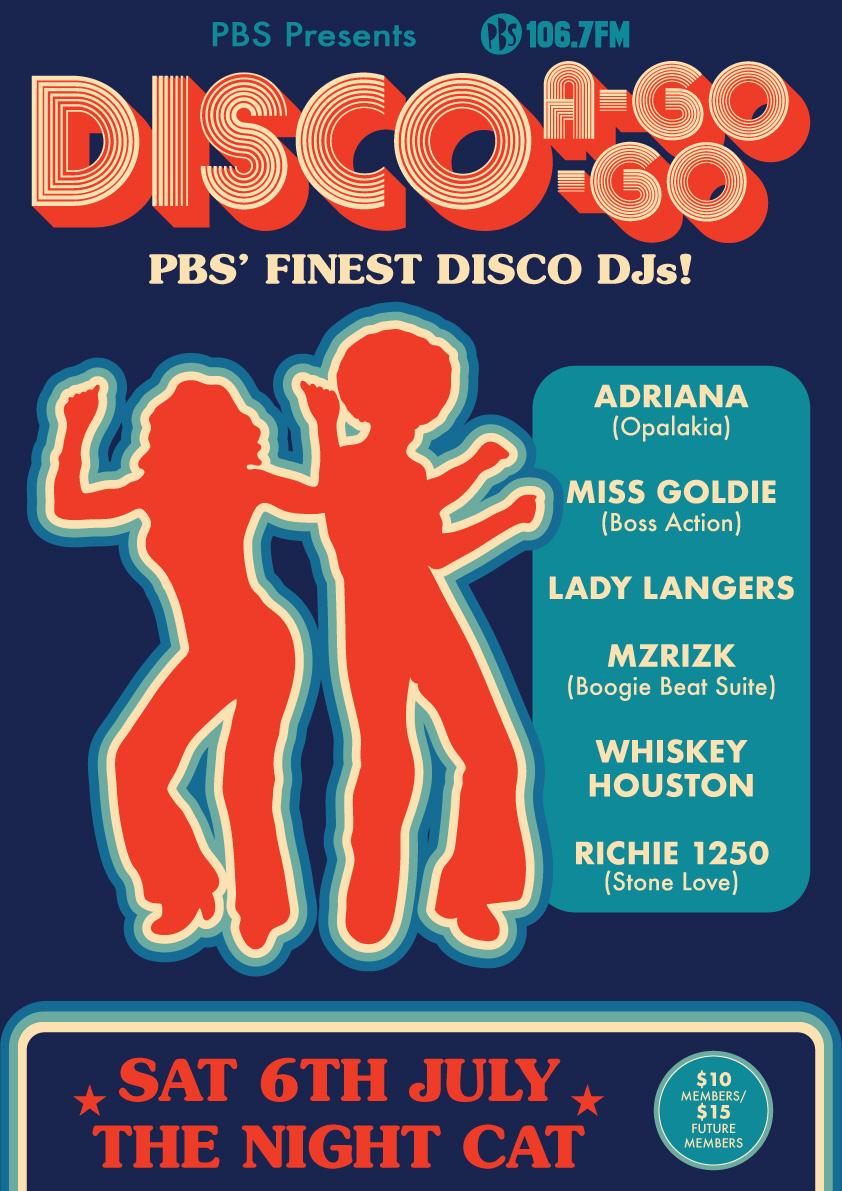 Disco A Go Go July
