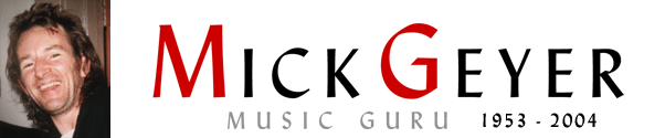 Mick Geyer Music Guru - The Radio Series