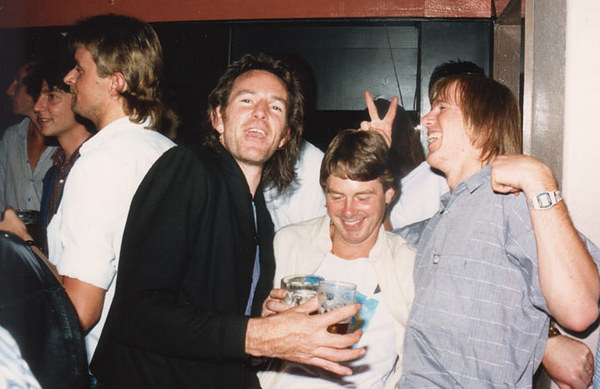 Ian Stanistreet's Farewell Party, early 1988