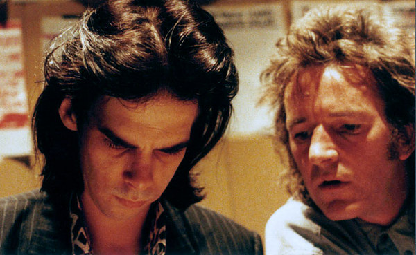 Mick Geyer with Nick Cave