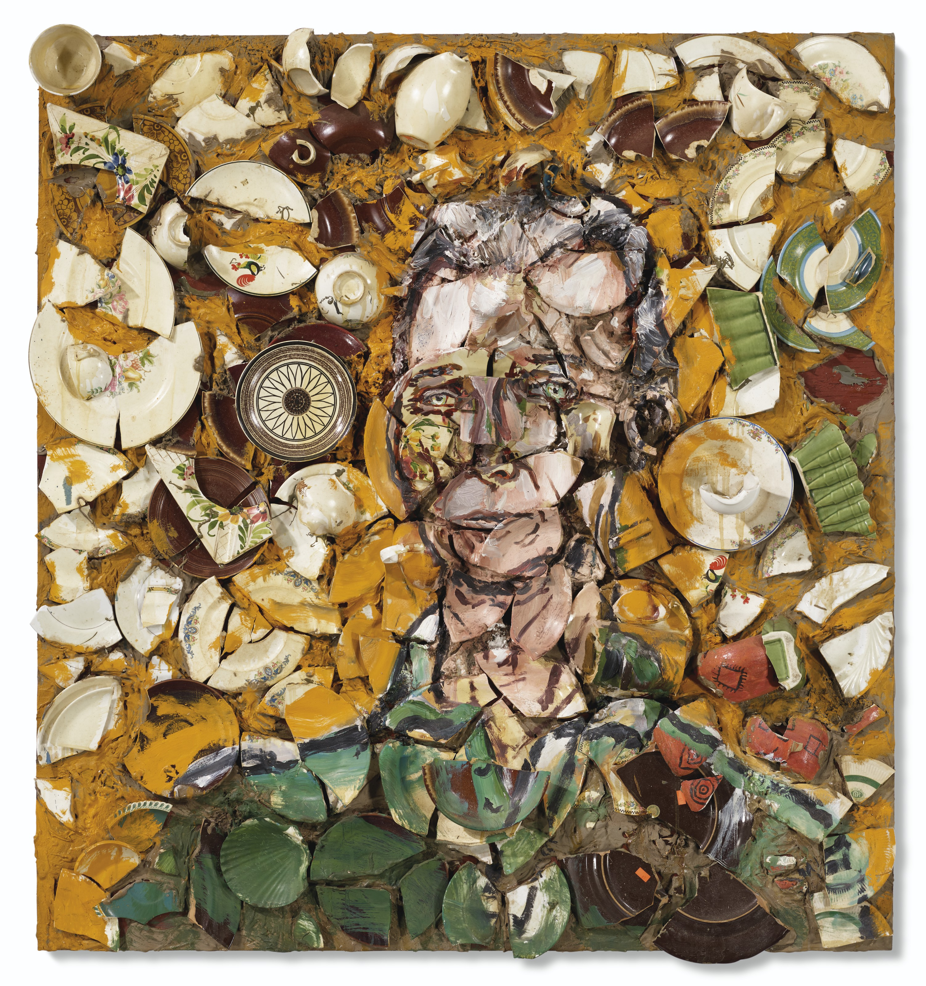 Julian Schnabel - Portrait of Robert Wilson