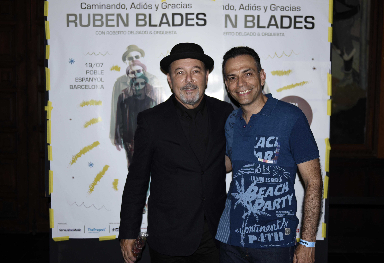 Ruben Blades with Saúl Zavarce