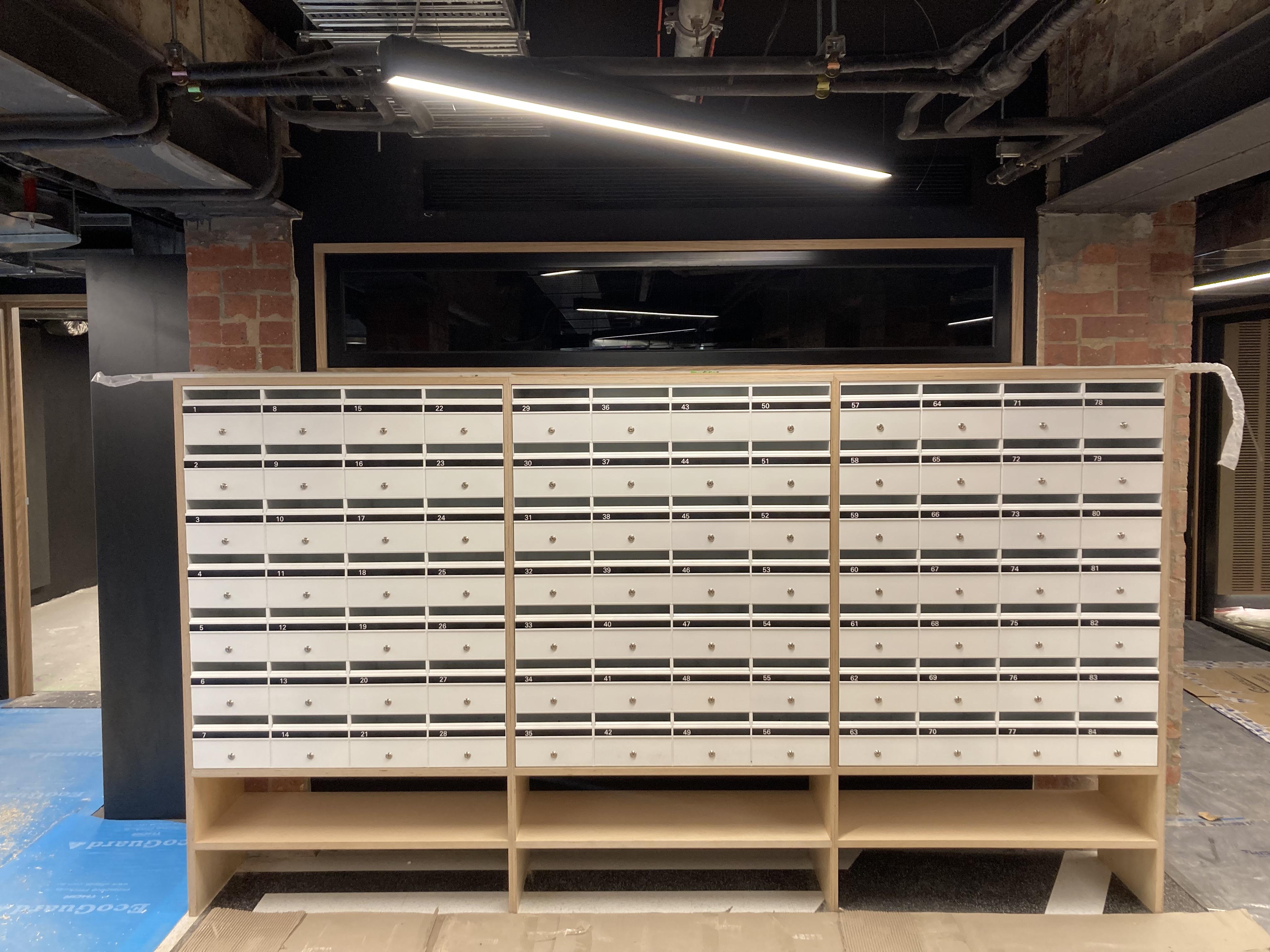 New PBS lockers!