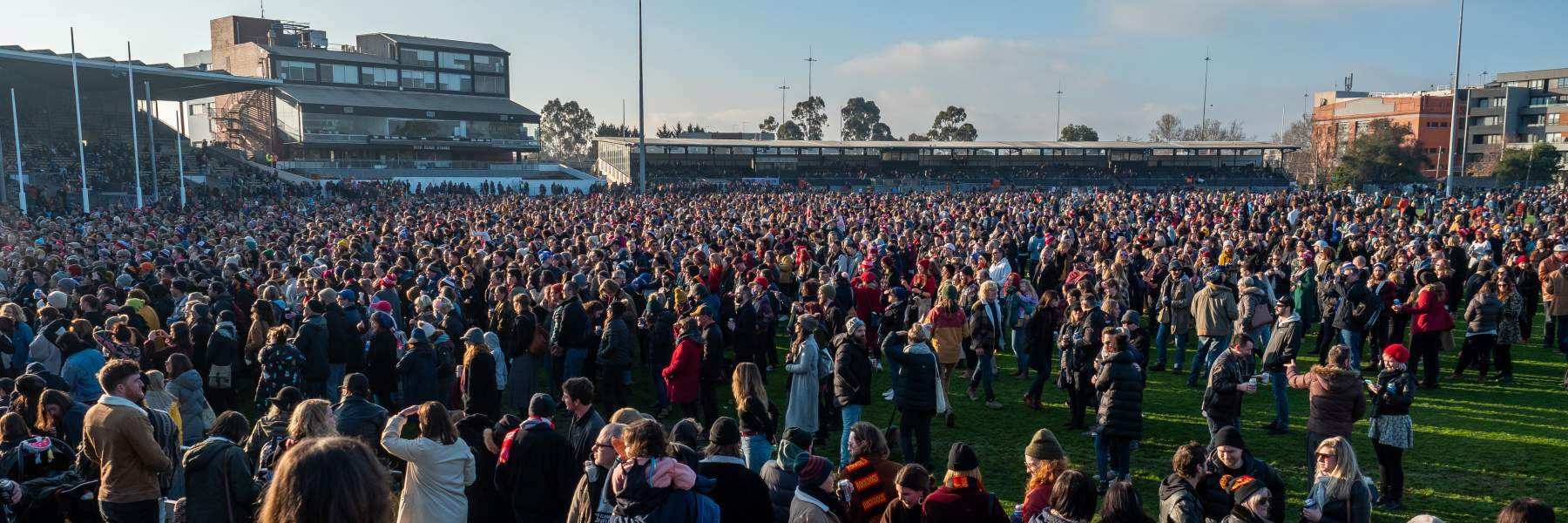 Community Cup Crowd
