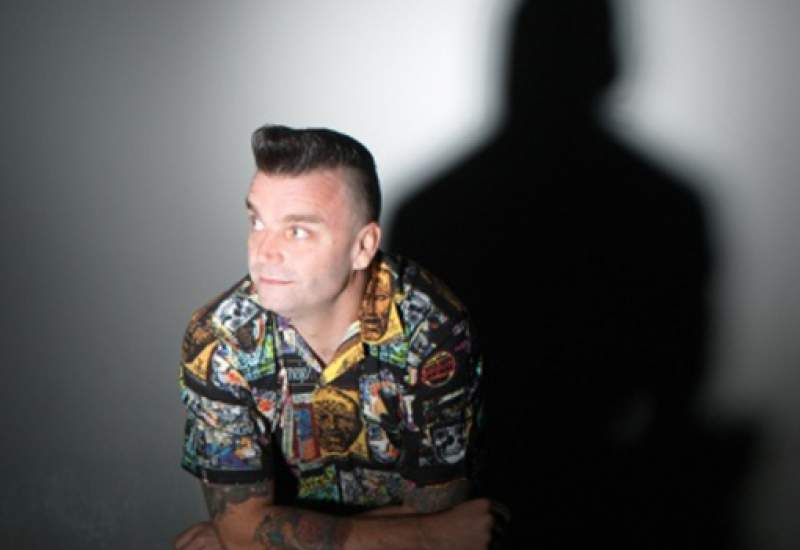 Australian drummer Eddie Fury