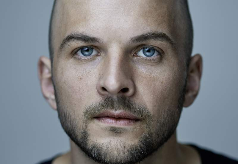 Nils Frahm by Manuel Wagner